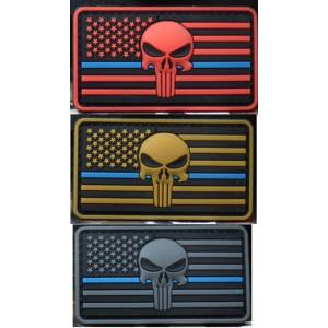 Patch  Punisher The Thin Blue Line
