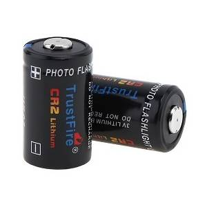 Trustfire Pile lithium 3 V  750mah cr2 avec Soupape de Sécurité