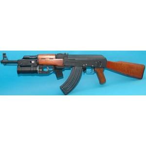 RK 47 bois et full métal+Lance grenade gp25+grenade 18 coups