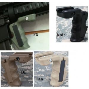 Grip CAA pour rail 20mm  noir