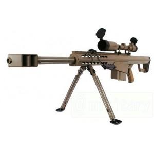 SW M82A1 CQB full metal+lunette 3-9x50mm reticule(TAN)