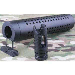 OT Silencieux  m4 qd  40x180mm avec  cache flame