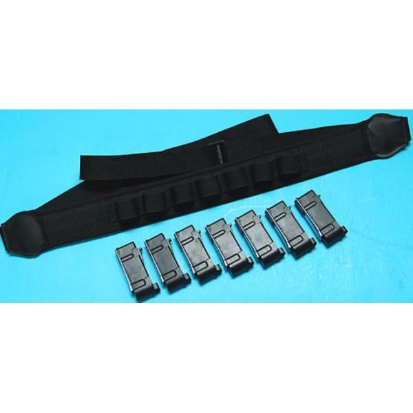 gp pack sangle avec 7 chargeur pour m870 pompe a ressort serie gunshop. Black Bedroom Furniture Sets. Home Design Ideas