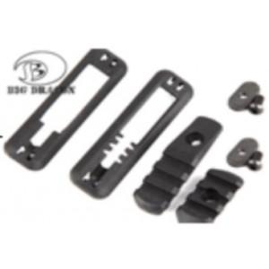 Kit rail  avec support switch  pour  garde main MOE