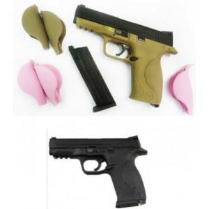 WE MP 4 pouce  avec 3 taille de grip en rose et 2 taille de grip