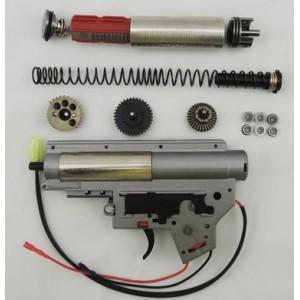 ZC  gearbox renforcer complet  avec  pignon cnc m4  aeg  serie