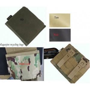 OT porte chargeur double m4,mp5 invisible  pour gilet  Modulable ou ceinture