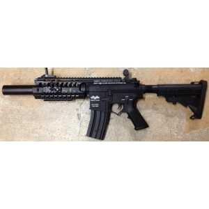 custom gunshop m4 sir  sd novesk  330fps