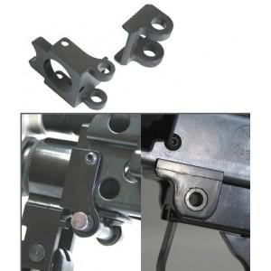 Guarder pieces  de recepteur en  acier  pour  ca/ak m249 serie