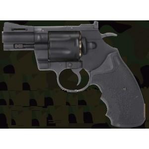 PYTHON 357 MAGNUM 2.5p  tout metal co2 noir