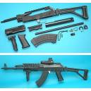 GP AK Tactical Conversion Kit (Folding Stock)(NVG Version)(Black)