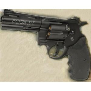 KWC COLT PYTHON 357 MAGNUM 4p  tout metal co2 noir