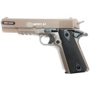 Colt  M1911 TAN  culasse métal c/c