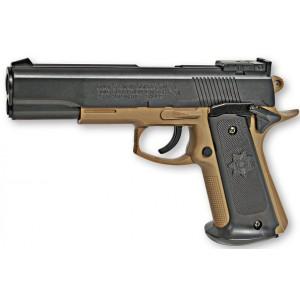 Colt  MK IV  A RESSORT tan/noir