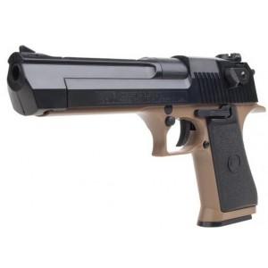Cybergun Desert Eagle 50AE   à ressort tan/noir
