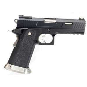 WE HI-CAPA 4.3 Allosaurus GBB Pistol noir
