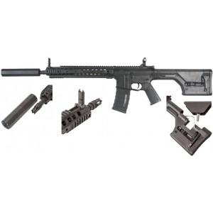A&K M4  DMR +silencieux  métal complet set