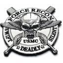 OT patch USMC  force recon bordé
