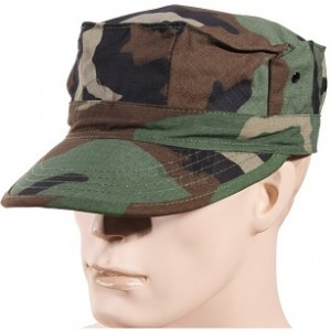 CASQUETTE MILITAIRE WOODLAND USA