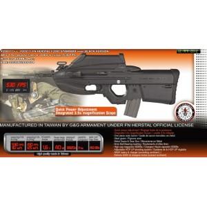 Cybergun FN 2000 noir  avec lunette integré