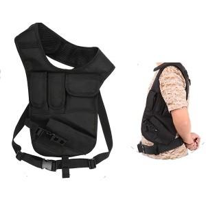 OT holster  d'épaule  avec double porte chargeur,porte accessoire